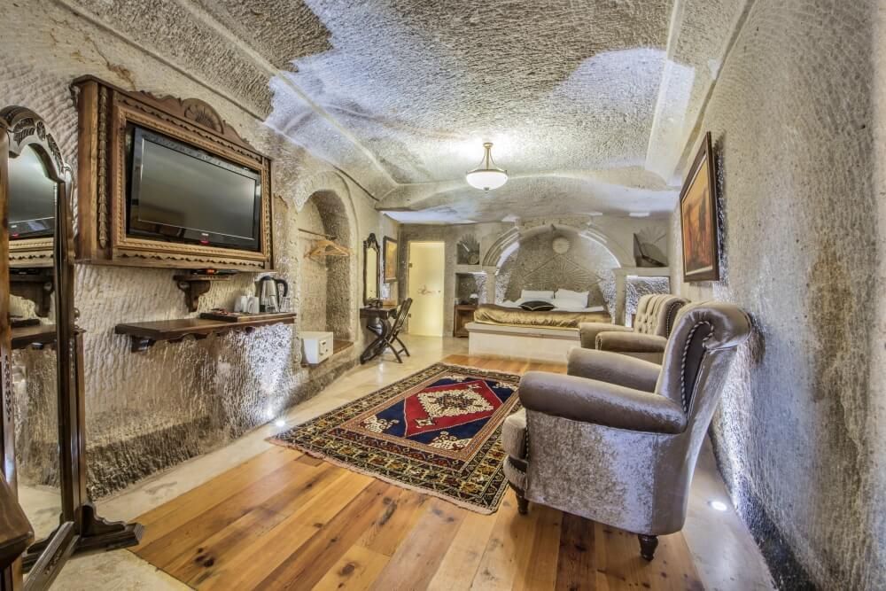 卡帕多奇亞飯店-奧斯曼洞穴套房飯店酒店—內夫瑟希爾
