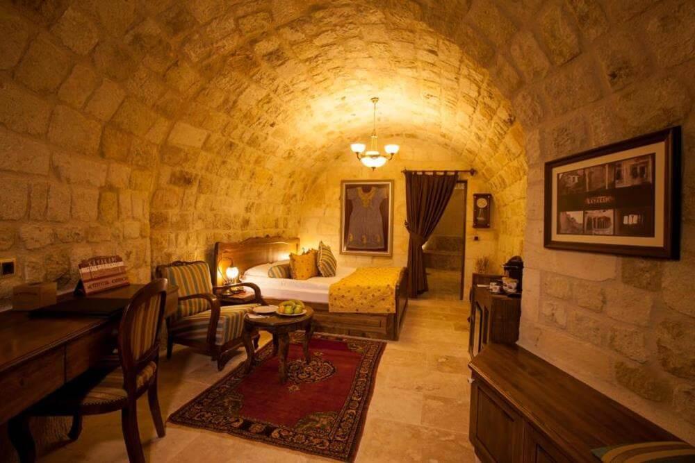 卡亞卡皮高級帕多西亞洞窟酒店—耳古樸-尊尚客房