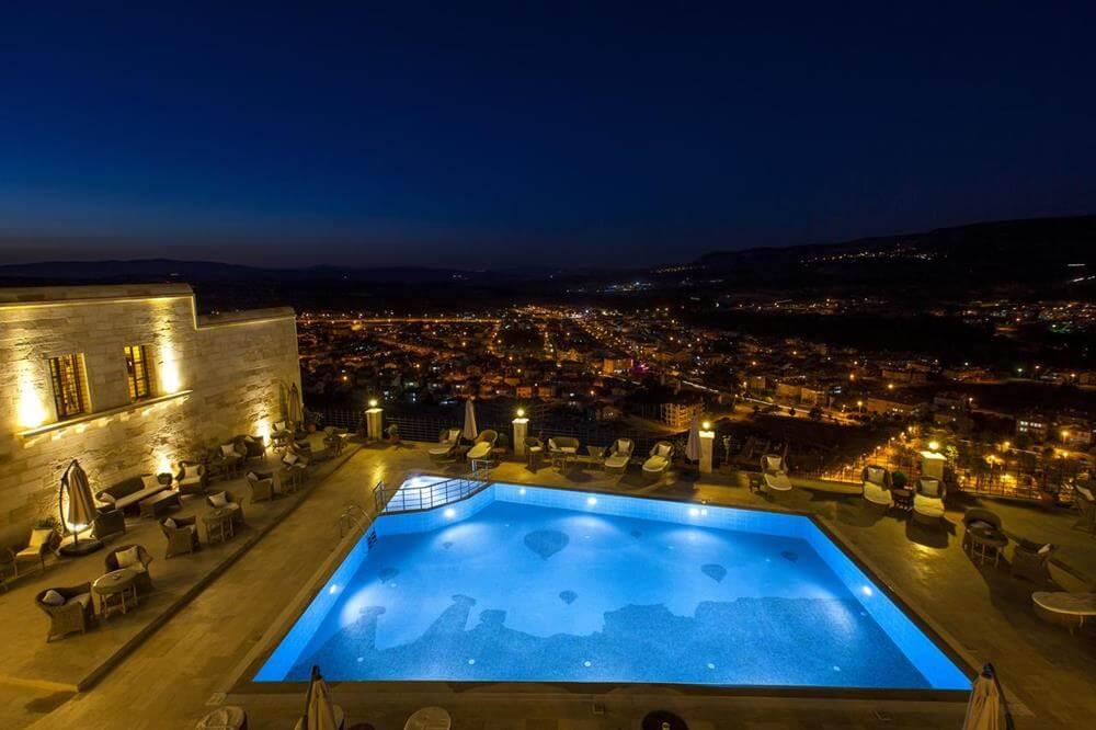 卡亞卡皮高級帕多西亞洞窟酒店—耳古樸-游泳池