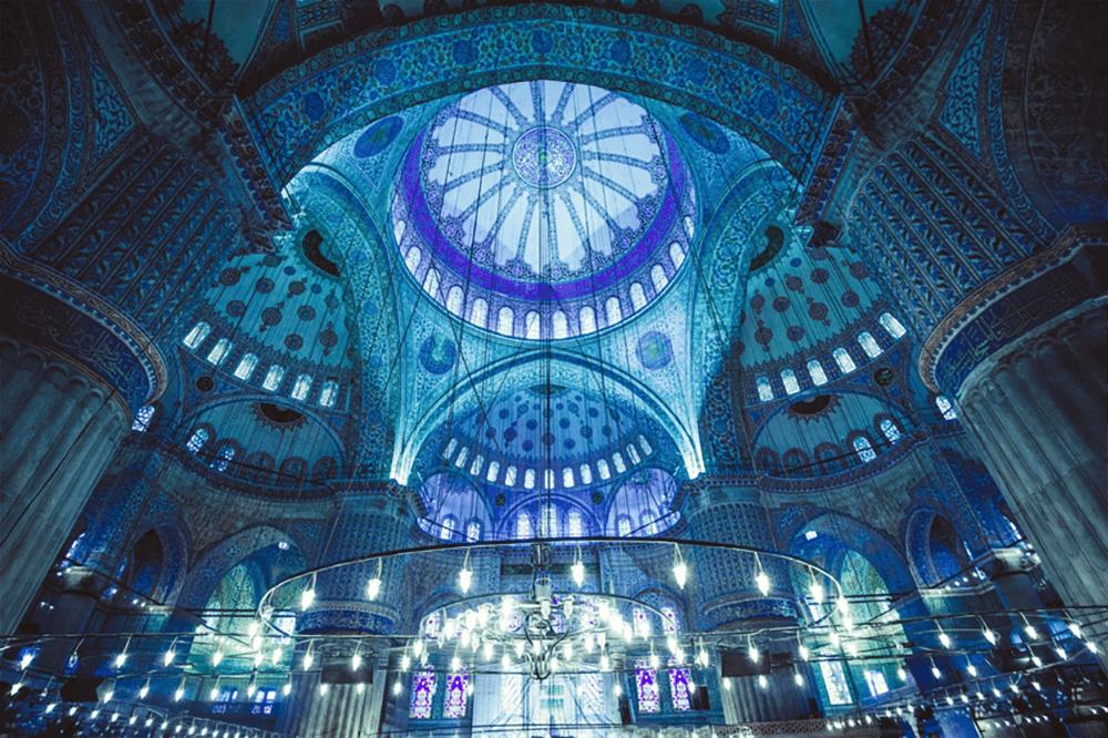 土耳其-蘇丹艾哈邁德清真寺