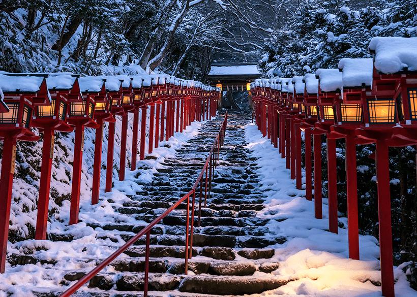 【京都自由行】冬季限定!京都賞雪6大私房景點,享受飛雪絕景好震撼