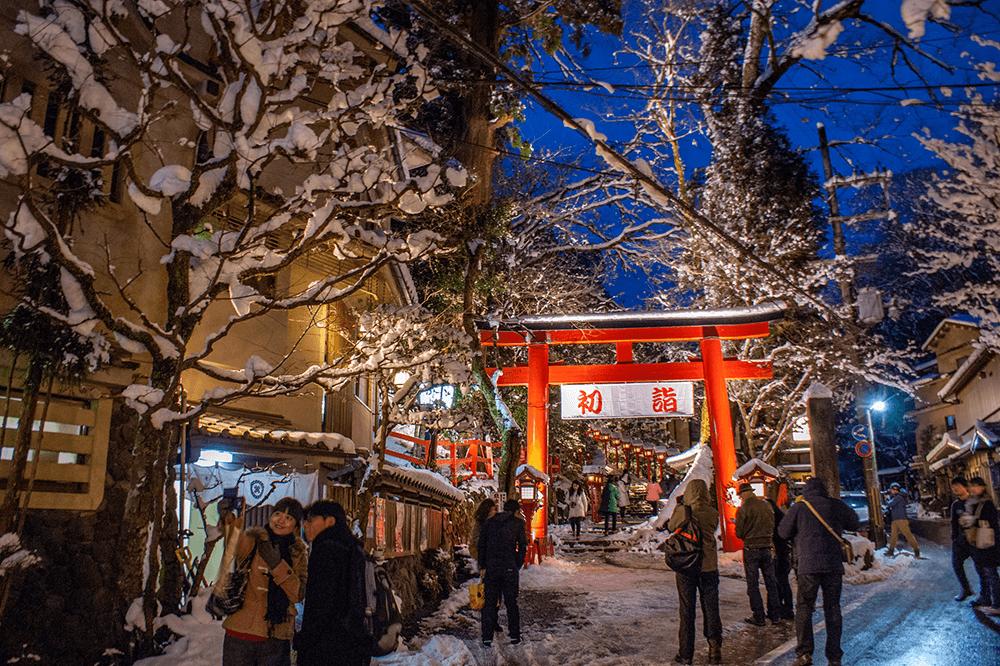 京都-賞雪-貴傳神社