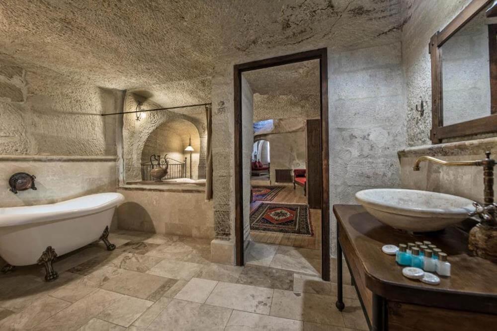 卡帕多奇亞飯店-阿伊迪尼爾岩洞酒店—內夫瑟希爾-套房