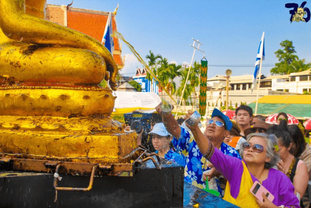 泰國潑水節意義