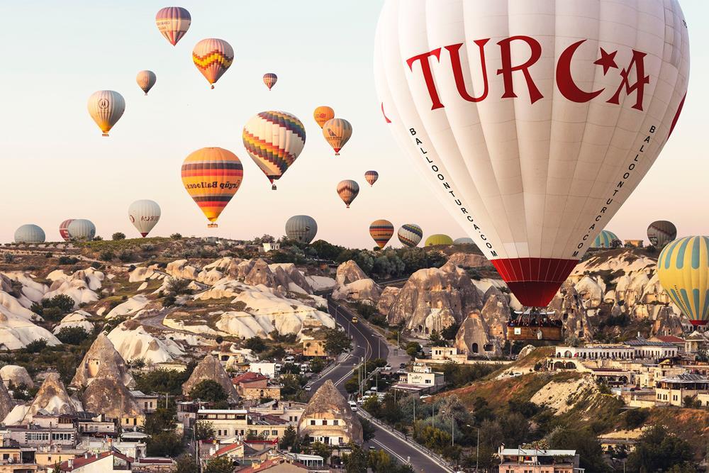 土耳其自由行-卡帕多奇亞熱氣球