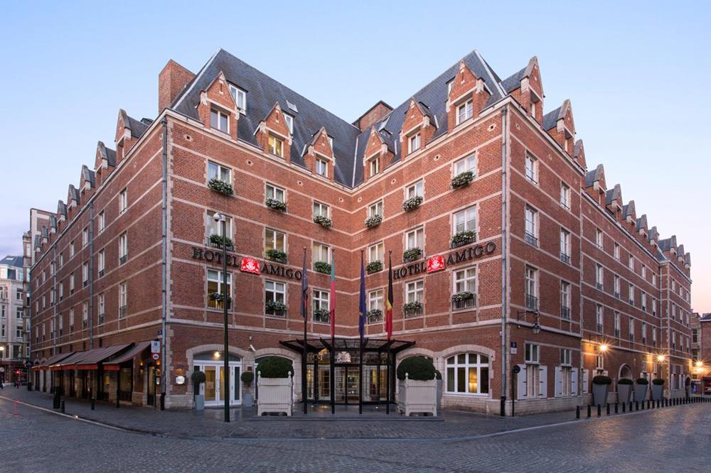 布魯塞爾-住宿-阿米戈羅克福特酒店