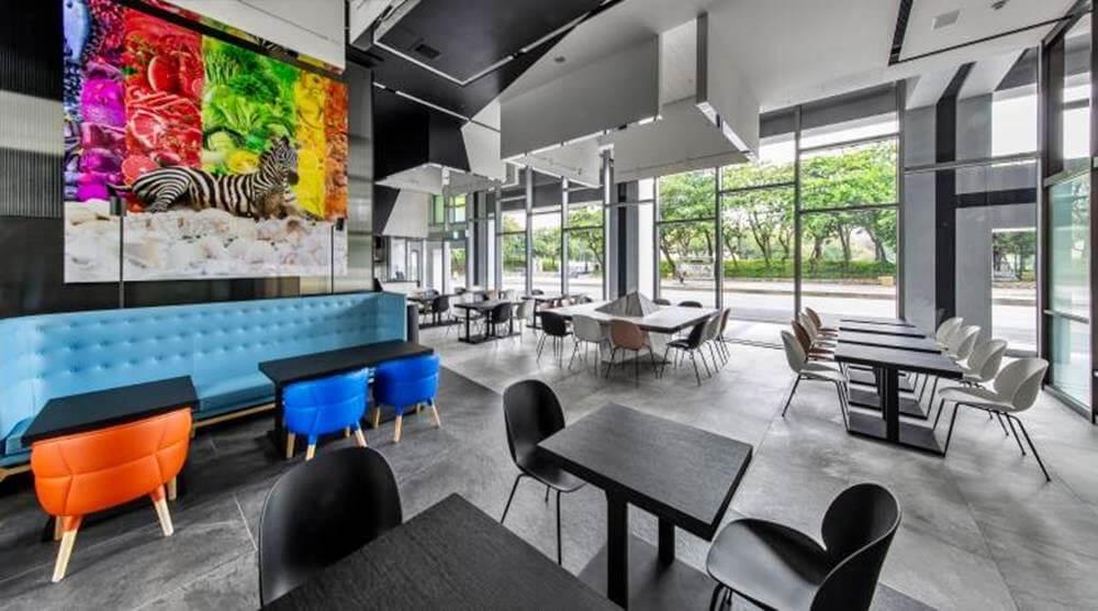 情侶住宿-台中-大毅老爺行旅-ZEBRA餐廳