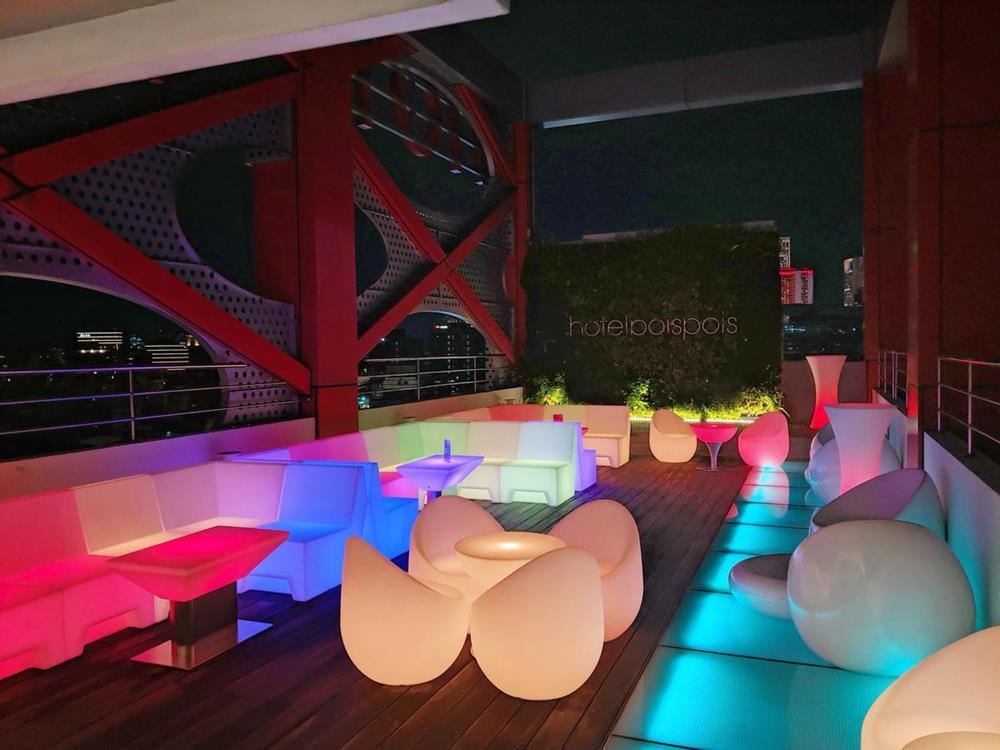 情侶住宿-台北-泡泡飯店-sky-bar