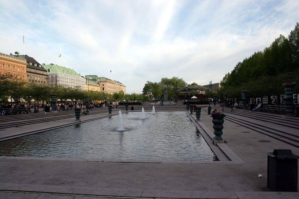 斯德哥爾摩景點-國王花園