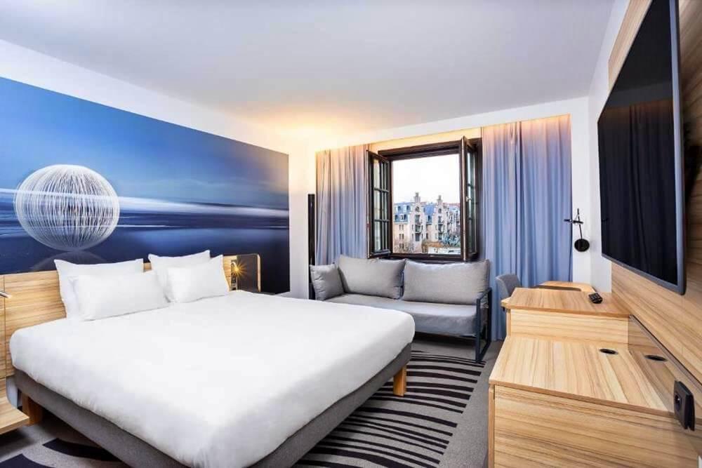 布魯塞爾住宿推薦-大廣場諾富特酒店-雙人房