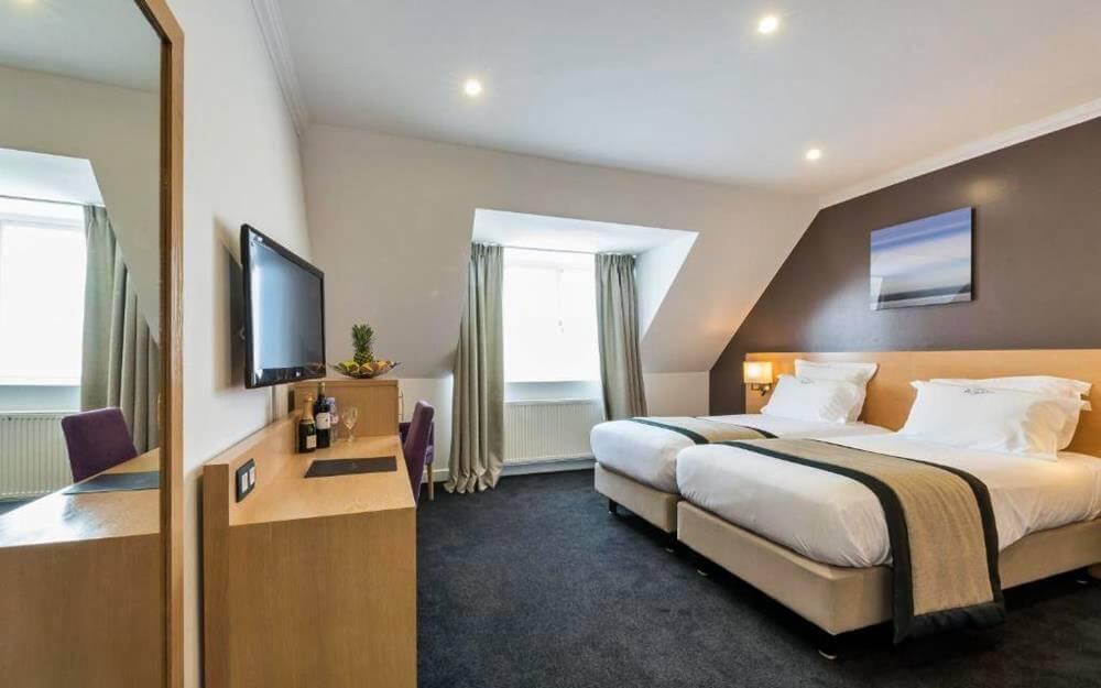布魯塞爾住宿-奧古斯丁酒店-經典雙人或雙床房