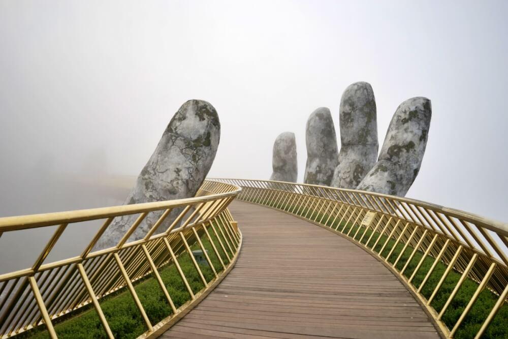 峴港景點-巴拿山黃金橋