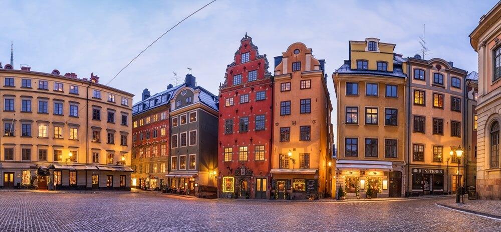 斯德哥爾摩-景點-大廣場Stortorget