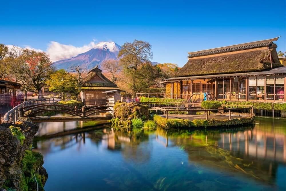 富士山-景點-忍野八海