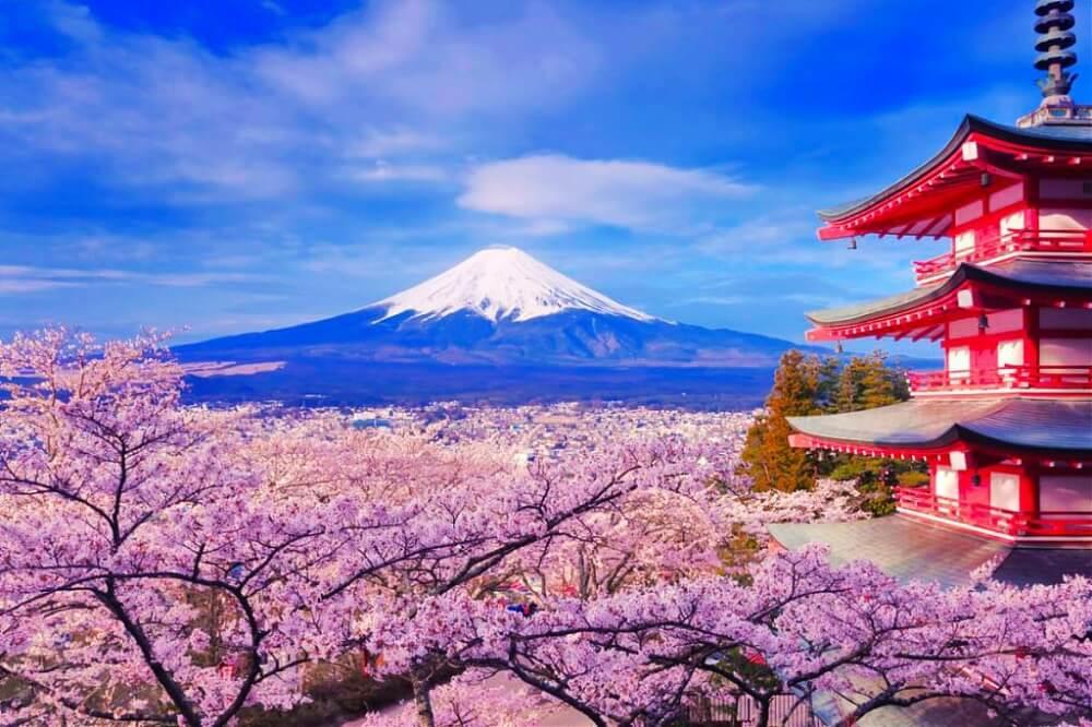富士山-景點-新倉山淺間神社