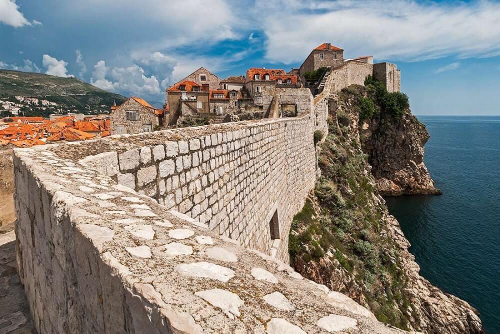 克羅埃西亞-景點-杜布洛夫尼克-古城牆