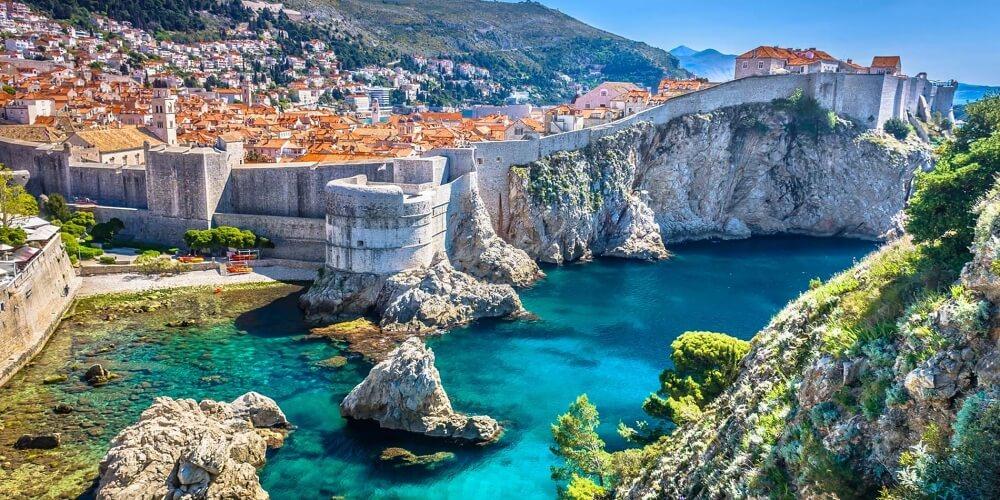 克羅埃西亞-景點-杜布洛夫尼克-聖羅倫斯堡壘