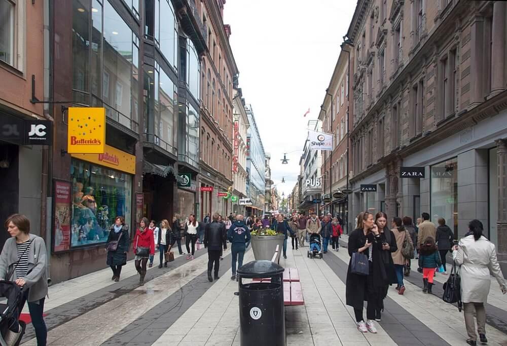 斯德哥爾摩-景點-皇后街