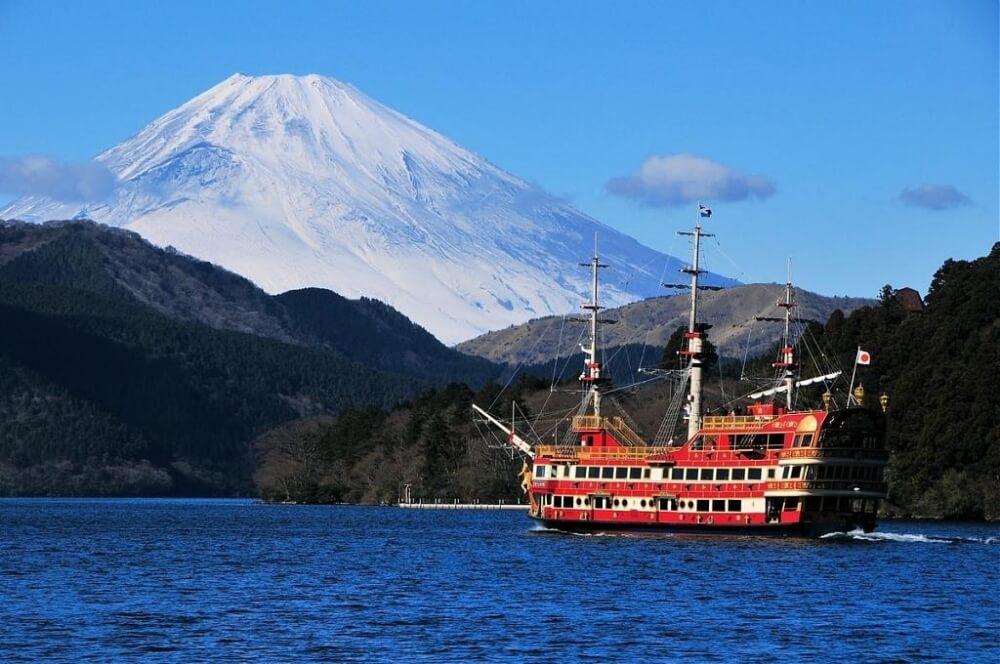 富士山-景點-箱根海盜船