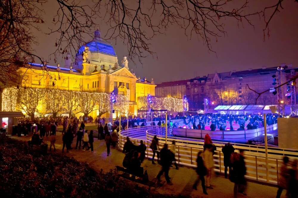 克羅埃西亞-景點-薩格勒布-聖誕市集