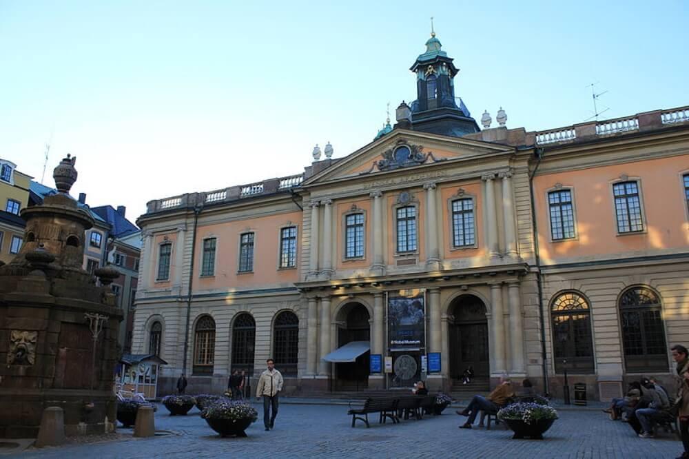 斯德哥爾摩-景點-諾貝爾博物館