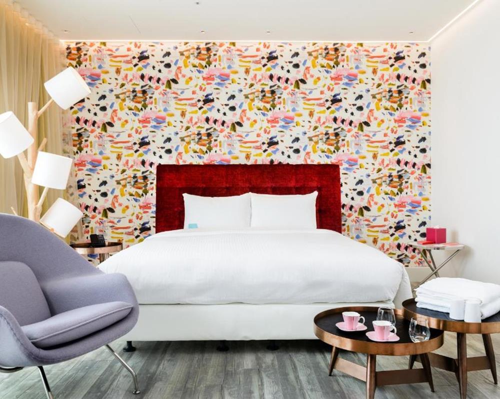 台北-泡泡飯店-調色盤房間