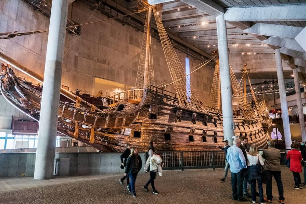 斯德哥爾摩景點-瓦薩沈船博物館