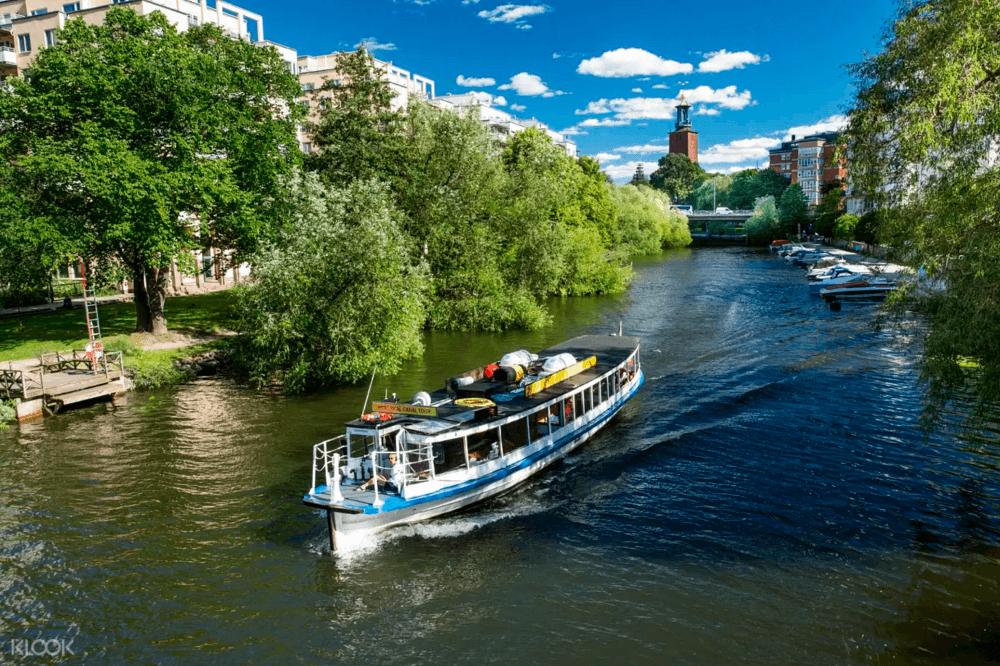 斯德哥爾摩-運河遊船觀光