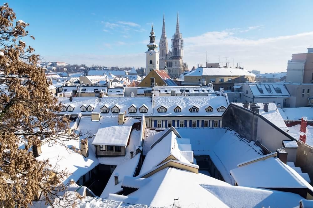 克羅埃西亞-薩格勒布-冬天-聖誕市集