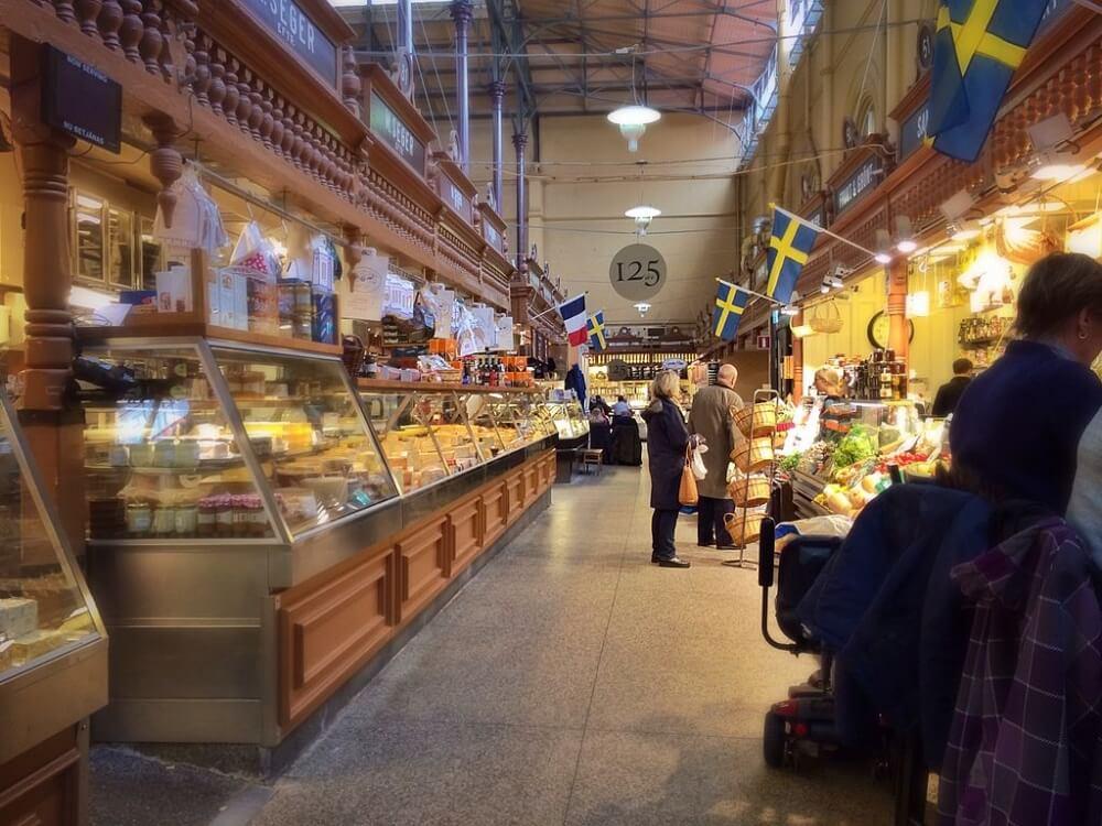 斯德哥爾摩景點-食品市場