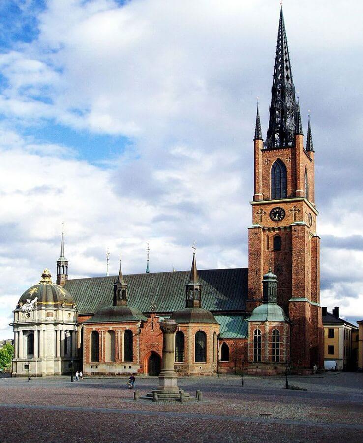 斯德哥爾摩景點-騎士島教堂