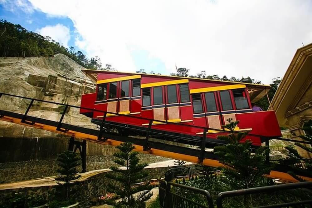 峴港景點-巴拿山纜車