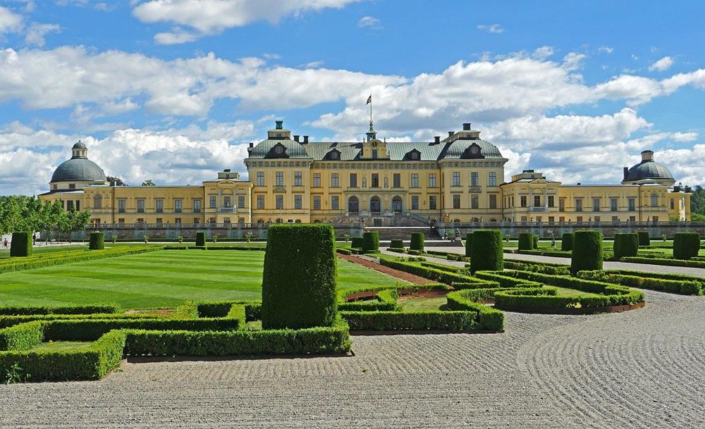 斯德哥爾摩景點-卓寧霍姆宮(皇后島宮)