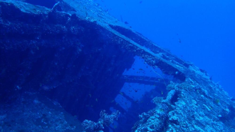 蘭嶼-八代灣沈船