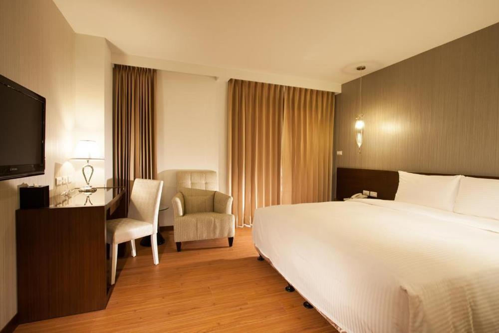 花蓮住宿-力麗華美達安可酒店-精緻雙人房