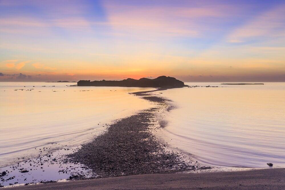 澎湖跳島行程-奎壁山摩西分海