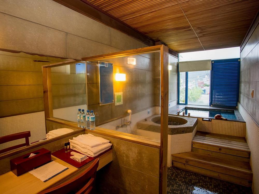 北海岸住宿推薦-愛琴海太平洋溫泉會館-個人湯屋2