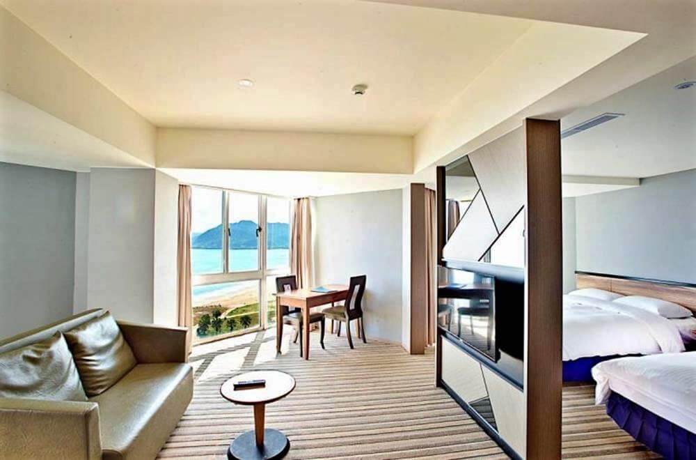 北海岸住宿推薦-愛琴海太平洋溫泉會館-聽濤套房