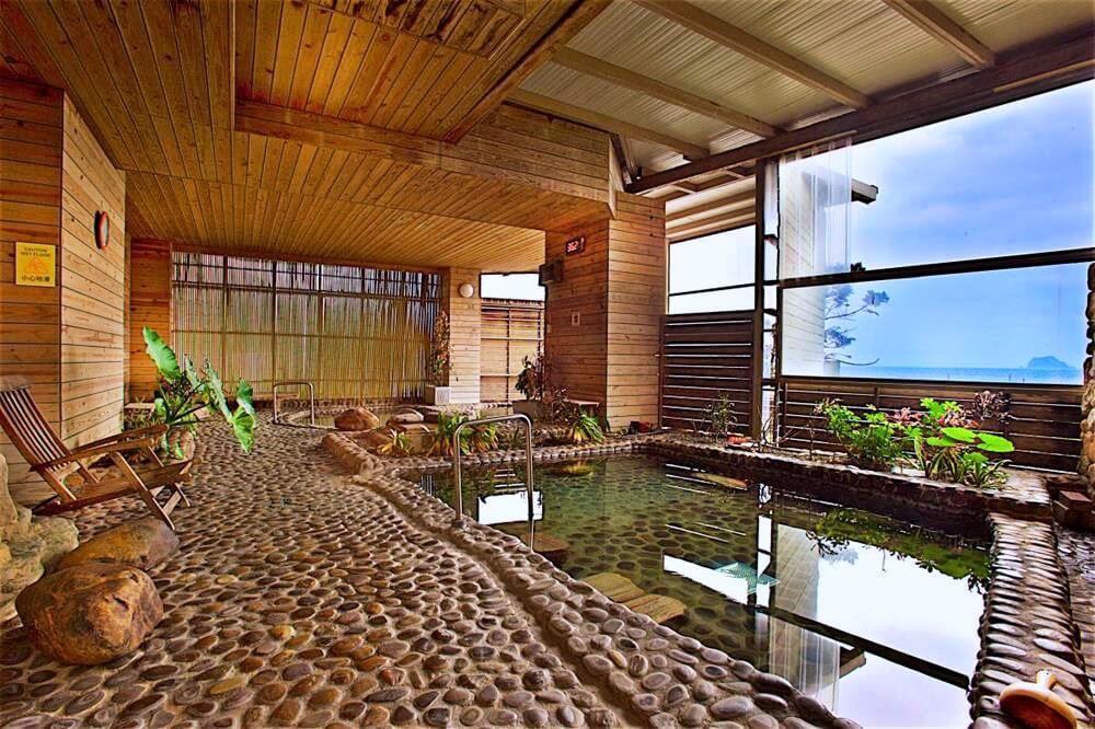 北海岸住宿推薦-愛琴海太平洋溫泉會館-風呂