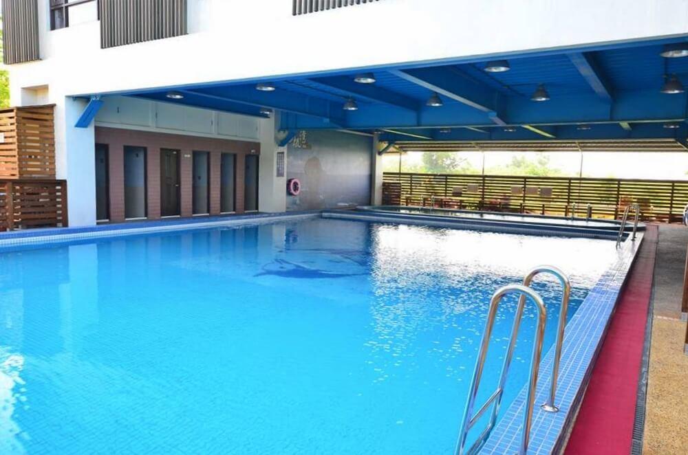 小琉球-杉板灣民宿-泳池