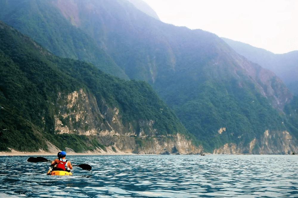 花蓮景點-清水斷崖獨木舟體驗