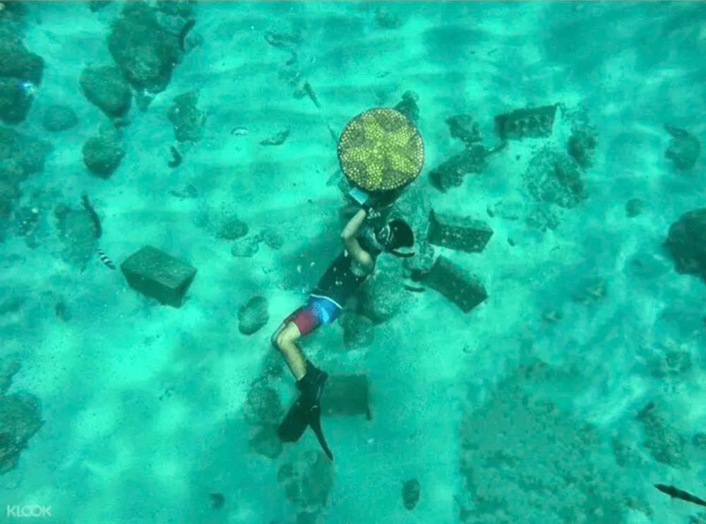 台灣潛水-澎湖海底郵筒