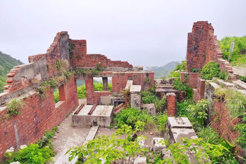 六坑無極索道-紅磚屋遺跡