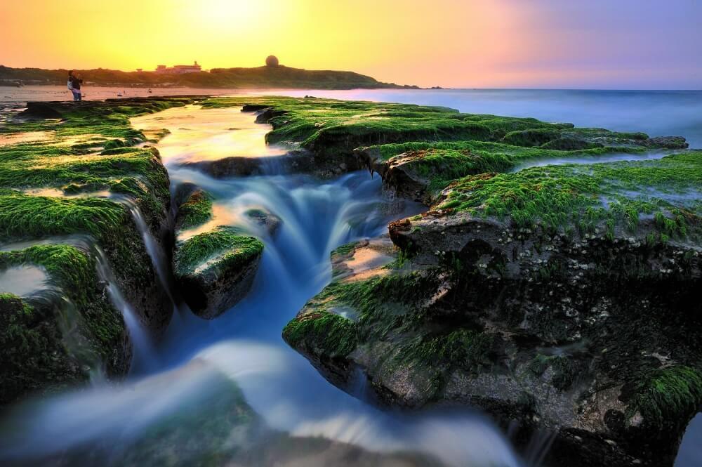 北海岸景點-老梅石槽