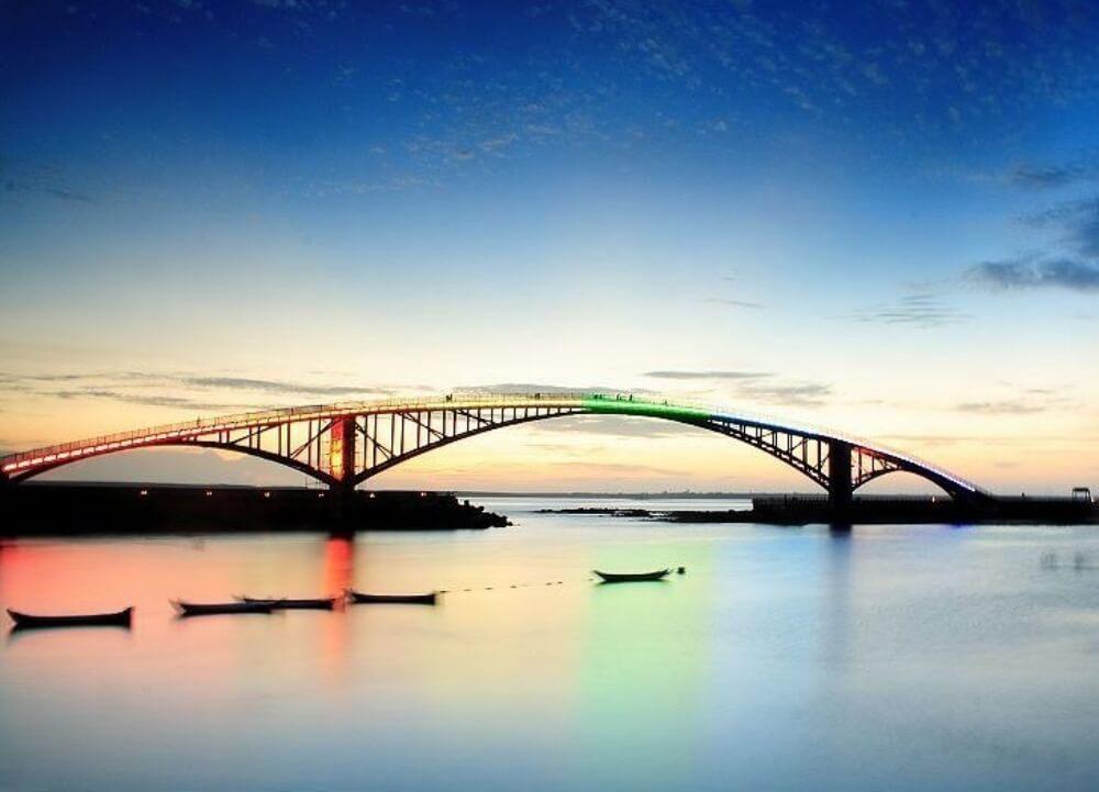 澎湖跳島行程-觀音亭西瀛虹橋