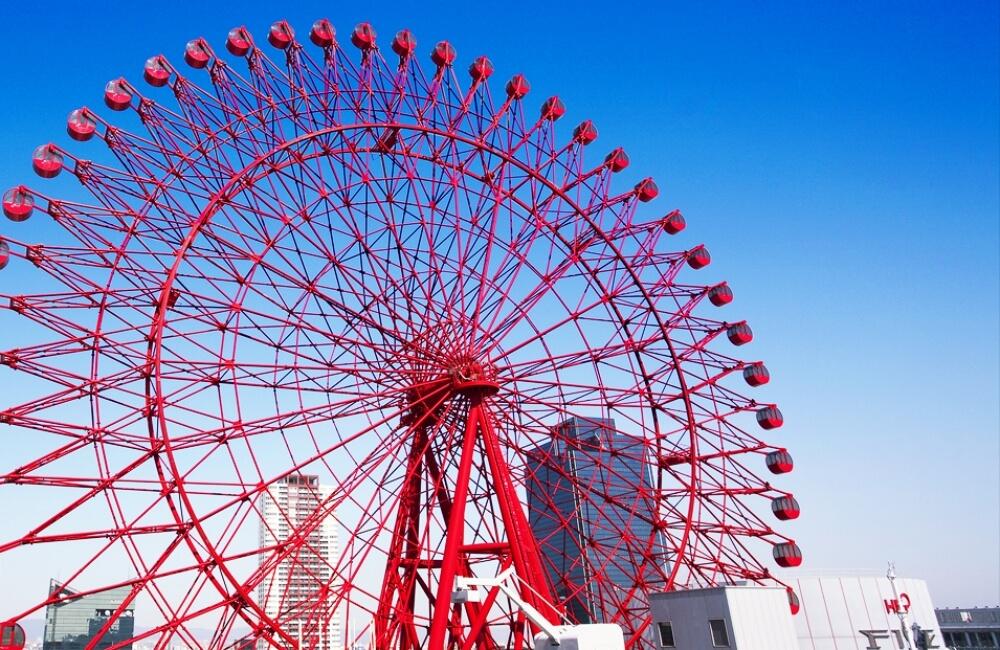 大阪周遊卡景點-hep-five摩天輪
