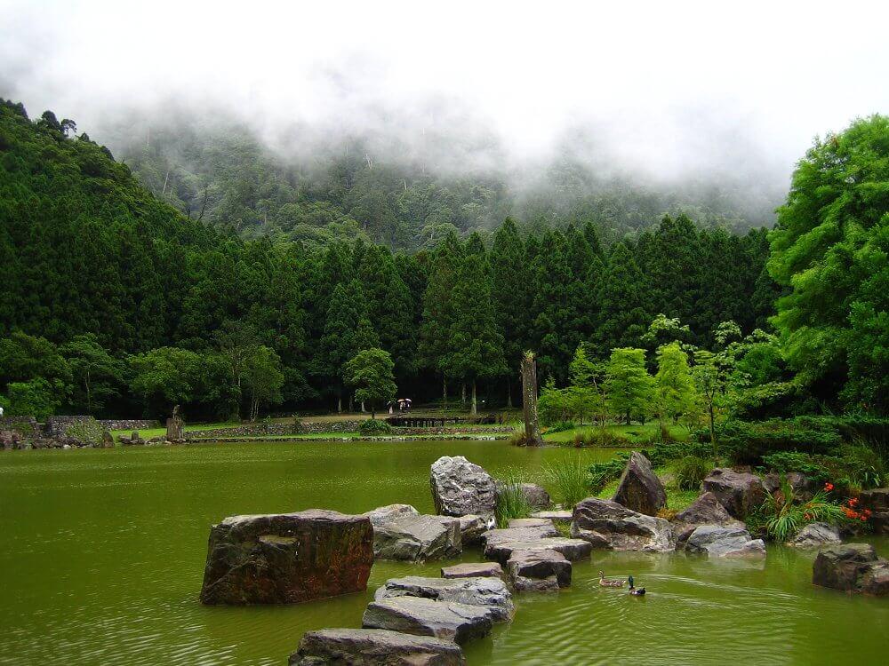 太平山周邊景點-明池森林遊樂區