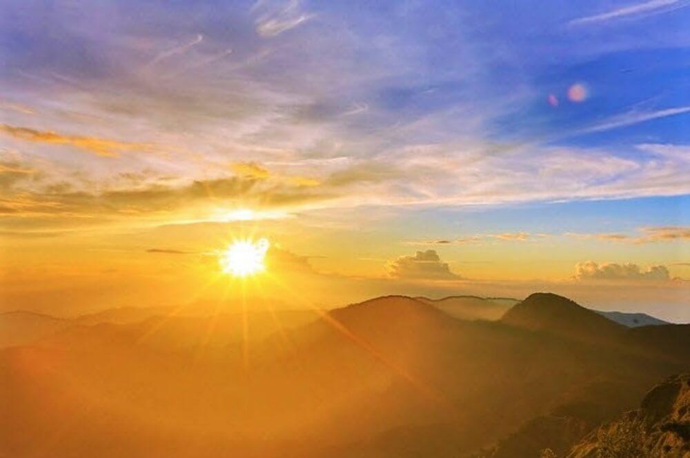 太平山-望洋山曙光日出