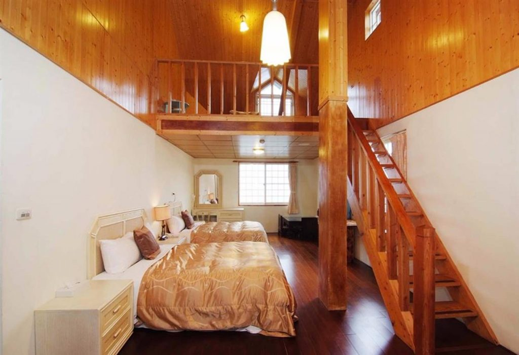 清境民宿-清境家園景觀山莊-景觀4人樓中樓套房