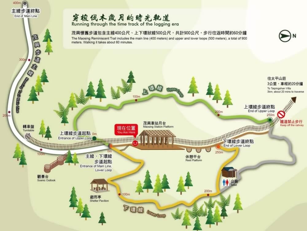 太平山景點-茂興懷舊步道